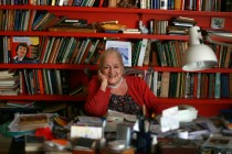 Elisabeth Ratiu in her study. London, 2009