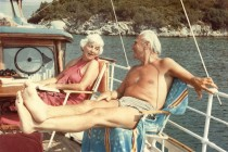 Ion and Elisabeth Ratiu on holiday, 1979